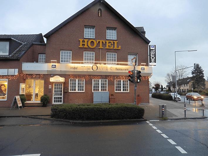 Leuchtbeschriftung Hotel Thomas